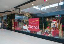 Loja temporária de artigos natalinos foi aberta no Boulevard Shopping